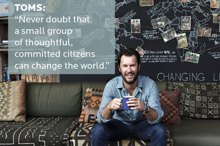 TOMS – It all started with a need
