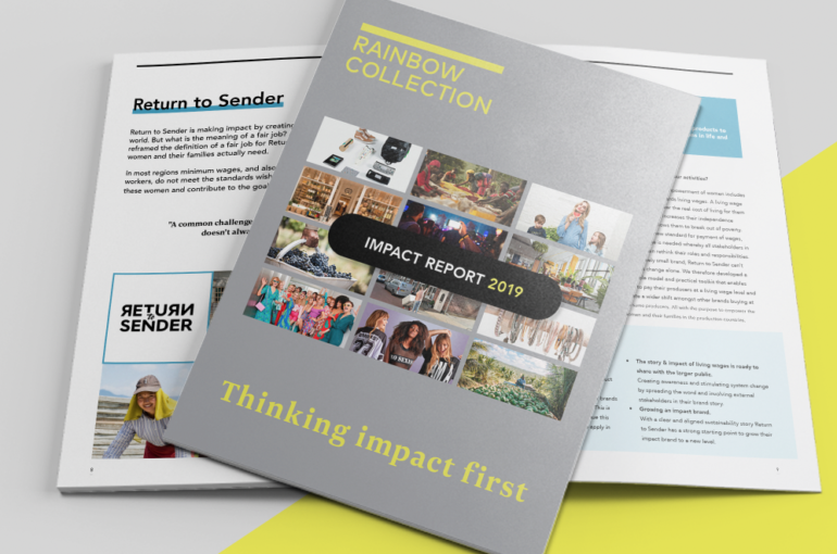 Impact report 2019 – Thinking Impact First
