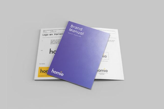 Brand manual Homie