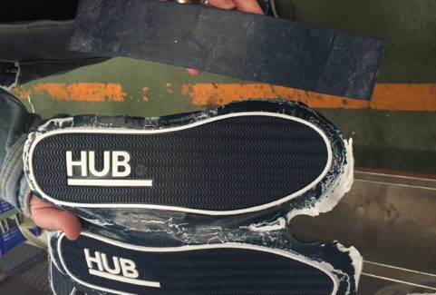 Hub – Straightforward impact, starting with the shoe