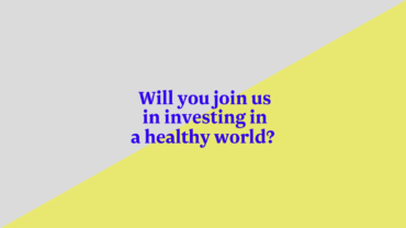 Call to creatives: join us for a healthier world!