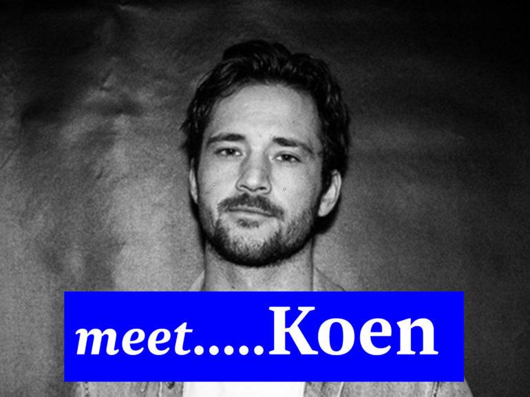 Meet Koen… our new intern!